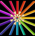 abstract pencil background vector image vector image