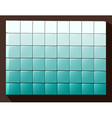 Cubes colored background vector image vector image