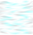 Cyan blue smooth waves design vector image