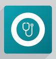 flat medical icon vector image vector image