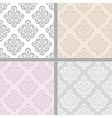 Pastel ethnic seamless background vector image vector image