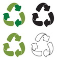 recycle2 vector image