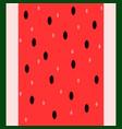 Seamless vertical watermelon pattern