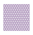 violet flower of life sacred geometric seamless vector image vector image