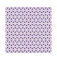 violet flower of life sacred geometric seamless vector image