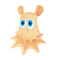 Cartoon Grimpoteuthis isolated on white background vector image