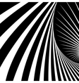 abstract movement illusion vector image vector image
