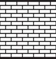 flat bricks wall seamless pattern for wallpaper vector image