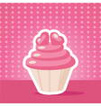 cake background vector image vector image