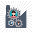 human resources icon design vector image vector image