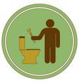 plumbing work symbol icon vector image