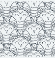 seamless pattern in scandinavian stile backdrop vector image vector image