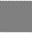 the black and white squares in a checkerboard vector image vector image