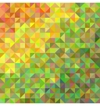 Abstract background in shades of orange and green vector image