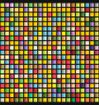 abstract geometric seamless pattern of color vector image vector image