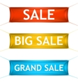 Big grand sale banners vector image