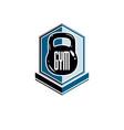 bodybuilding weightlifting gym logotype sport vector image vector image