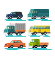 cars and vehicles transport vector image