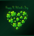 happy st patricks day or card vector image vector image