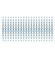 hierarchy shape halftone grid vector image