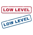Low Level Rubber Stamps vector image vector image