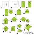 make origami a jumping frog