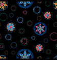 seamless abstract floral background pattern