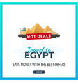 travel to egypt template banners