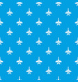 war plane pattern seamless blue vector image vector image