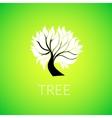 Paper tree vector image
