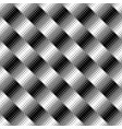 black and white seamless abstract square pattern vector image vector image