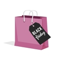 Black Friday Sale of paper vector image