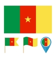 Camerooncountry flag vector image