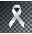 White Ribbon Alliance for Safe Motherhood vector image vector image