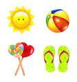 Beach Childrens Set vector image vector image