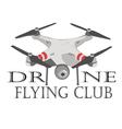 Drone logos badges emblems and design elements