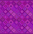geometrical diagonal square pattern background vector image vector image