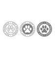 pet friendly vector image