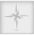 Photo real origami star