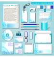 set of design templates for Business vector image