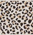 abstract leopard skin seamless pattern animal fur vector image vector image