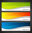 Banner modern wave design vector | Price: 1 Credit (USD $1)