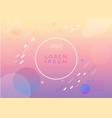 bright abstract pattern background with line vector image