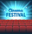 creative of movie cinema vector image vector image