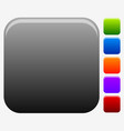 empty square button or icon backgrounds for vector image vector image