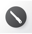 knife icon symbol premium quality isolated sharp vector image