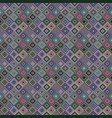 repeating diagonal square mosaic pattern vector image vector image
