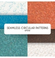 Set of four abstract seamless patterns of vector image vector image