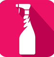 Spray Bottle Icon vector image vector image