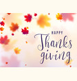 thanksgiving celebration vector image vector image